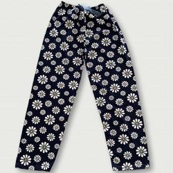 Pantalón pijama estampado algodón 100%, fashion flowers