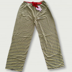 Pantalón pijama estampado algodón 100%, trie flash