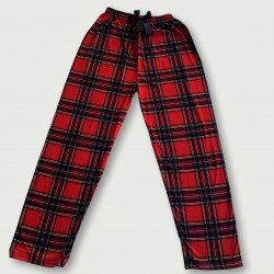 Pantalón pijama estampado algodón 100%, scothish
