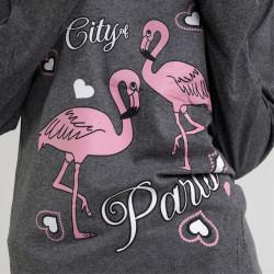 Pijama de algodón peinado 100% de la mejor calidad, City, detalle del dibujo
