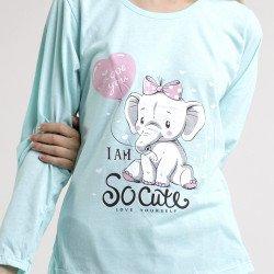 Pijama de algodón peinado 100% de la mejor calidad, so cute detalle del dibujo