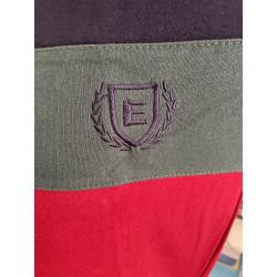 Pijama hombre bordado, algodón 100% Modelo DAX, detalle del bordado