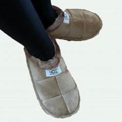 Zapatilla pantufla invierno de terciopelo