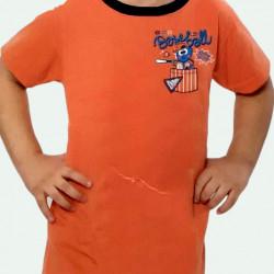 Pijama de verano para niños de algodón 100%. Detalle del dibujo