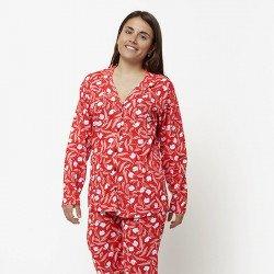 Pijama chaqueta de algodón 100%, Modelo NAPOLI