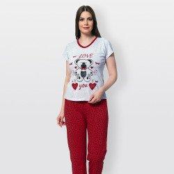 pijamas mujer manga corta,...