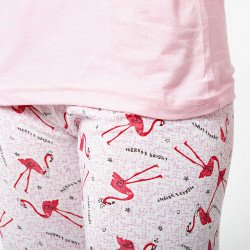 Pijama barato mujer primavera estampado algodón 100% Mod. DIVAN