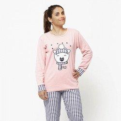 Pijama de mujer de algodón peinado 100% de la mejor calidad, COLD BEAR