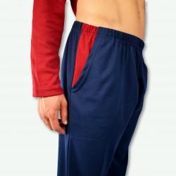 Detalle del bolsillo del pantalón