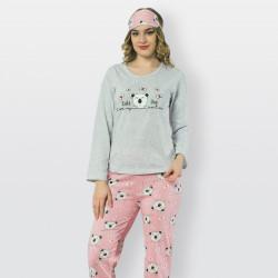 Pijama mujer estampado, Dog